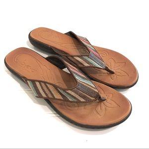 B.O.C. Born Concepts Canvas Flip-Flop Sandals